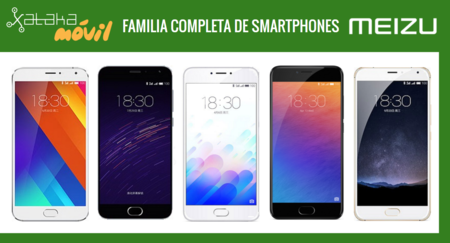 Así queda el catálogo completo de smartphones Meizu tras la llegada del nuevo Meizu MX6