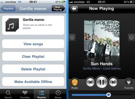 Grooveshark, Apple se arrepiente y acepta la aplicación de música en streaming