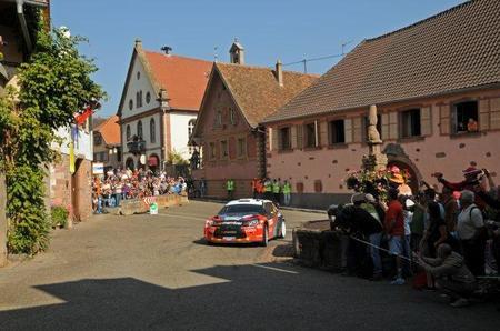 Rally de Alsacia 2011: Petter Solberg excluido por no llegar al peso mínimo