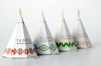 TeaPee, infusiones de té en forma de tipi