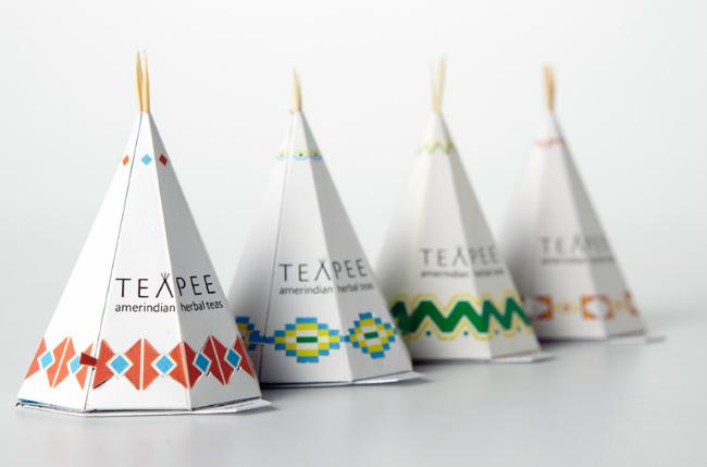 TeaPee, té en forma de tipi