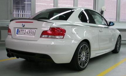 BMW Serie 1 tii: ¿fotos de la versión de producción?