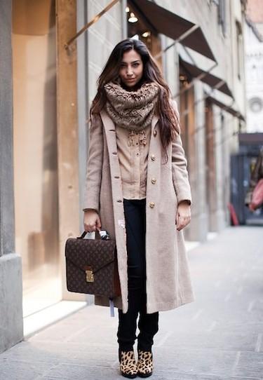 Guía de Street Style útil contra el frío