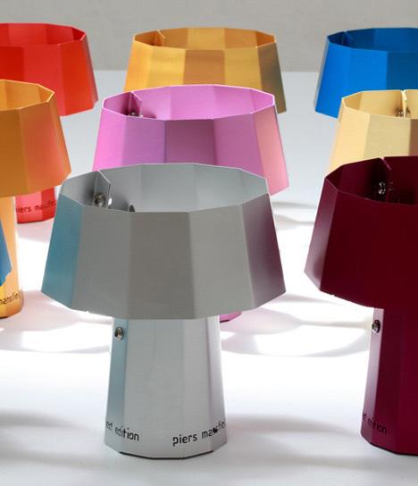 Espresso, lámparas inspiradas en cafeteras