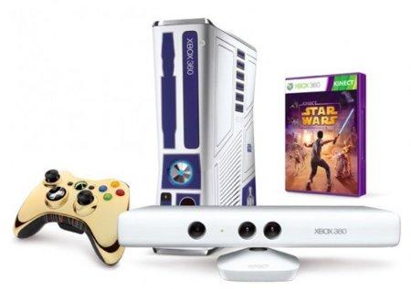 Kinect Star Wars, edición especial de la guerra de las galaxias para Xbox 360