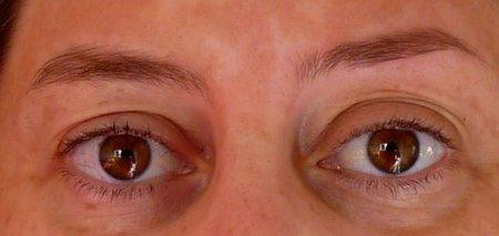 Diseño de cejas: foto del antes y del después