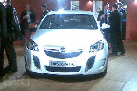 Opel Insignia OPC, primera imagen