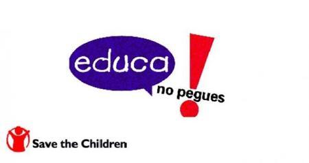 """""""Educa, no pegues"""", guía para padres y madres"""