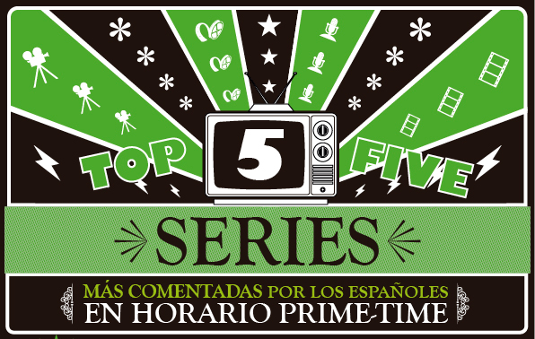 Top 5 series infografía