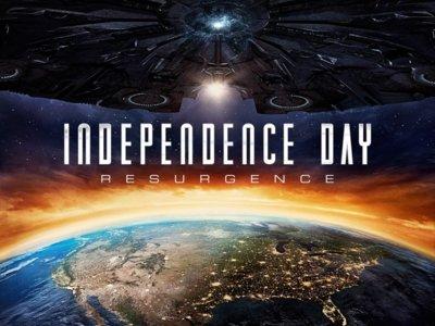 'Independence Day: Contraataque', póster de una de las secuelas menos esperadas del año