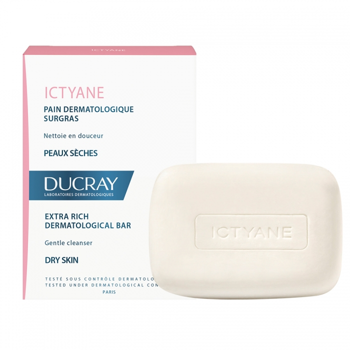 Ducray Ictyane Pastilla Dermatológica Pieles Secas