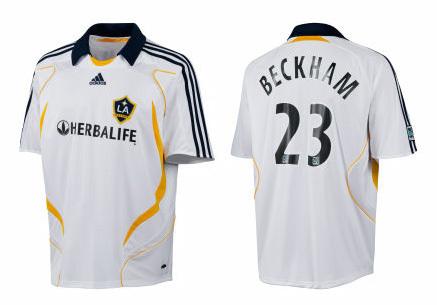 La camiseta de Beckham en LA Galaxy Jersey