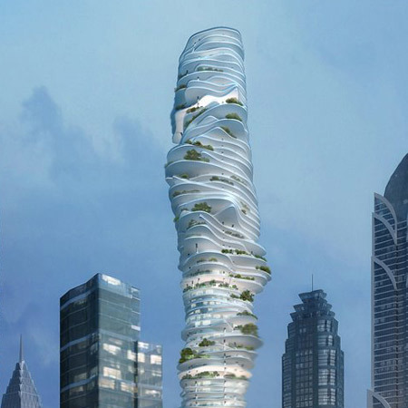 Urban Forest, ambición arquitectónica en China