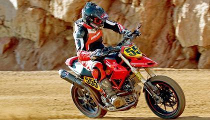 Ducati Hypermotard en Pikes Peak