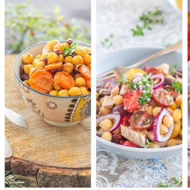 Las 12 mejores recetas de ensaladas con legumbres para abrir un bote y tener una comida completa en minutos