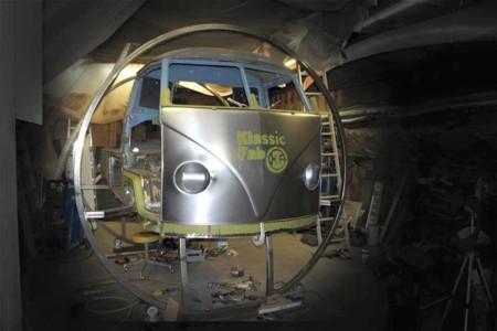 Hoy, en 2015, se fabrican carrocerías nuevas para Volkswagen T1
