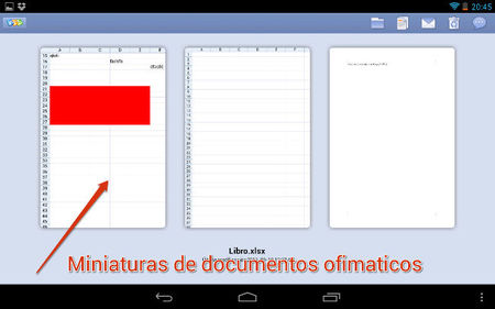 Documentos ofimáticos