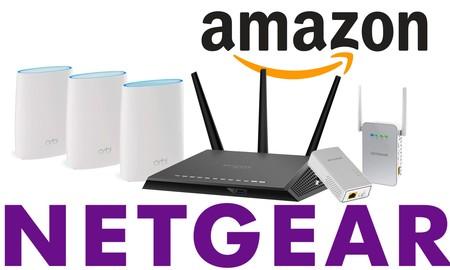 Ofertas en conectividad Netgear: routers convencionales y 4G o sistemas de WiFi en malla a precios ajustados en Amazon