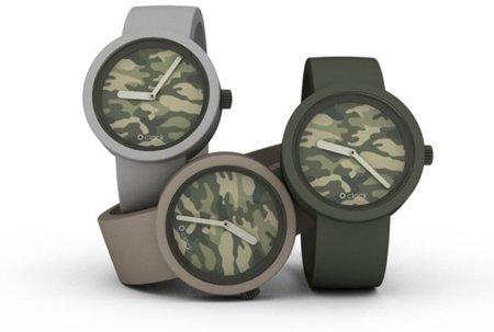 Relojes de camuflaje de O Clock