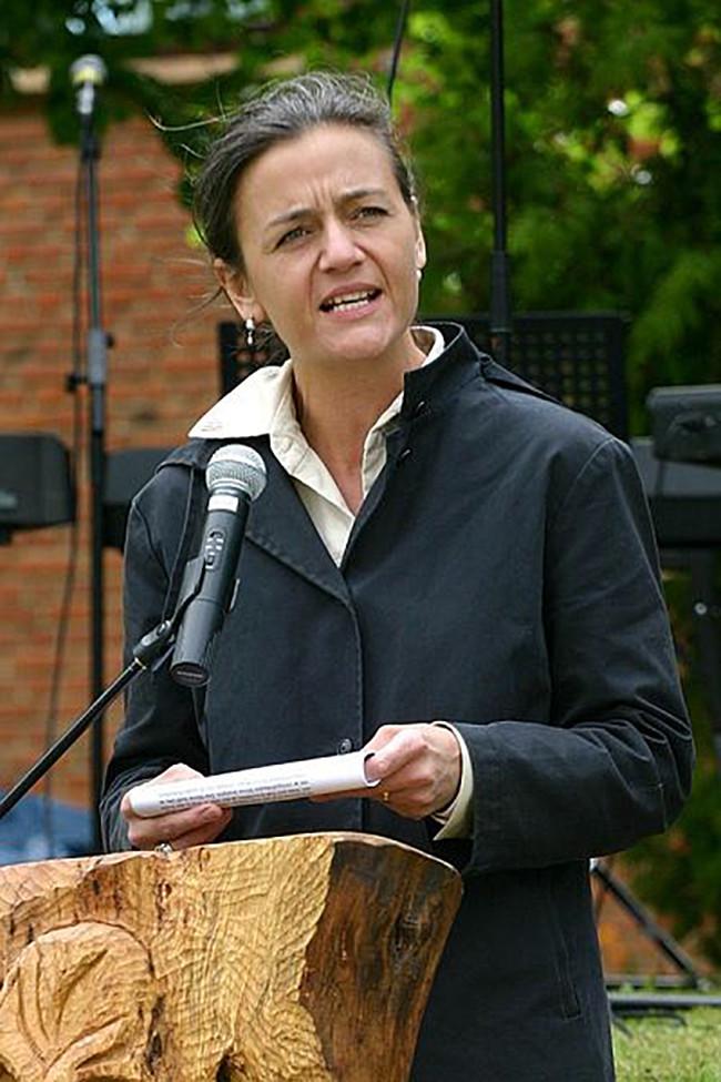 Vestager en 2006, durante su etapa en la política danesa a la que posiblemente tenga que volver.