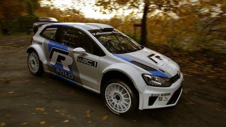 El Volkswagen Polo R WRC comienza su puesta a punto