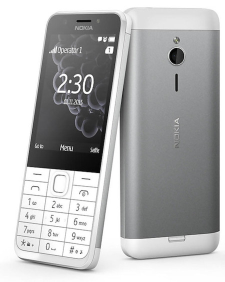 Nokia 230, los feature phones se suman a la moda de los selfies