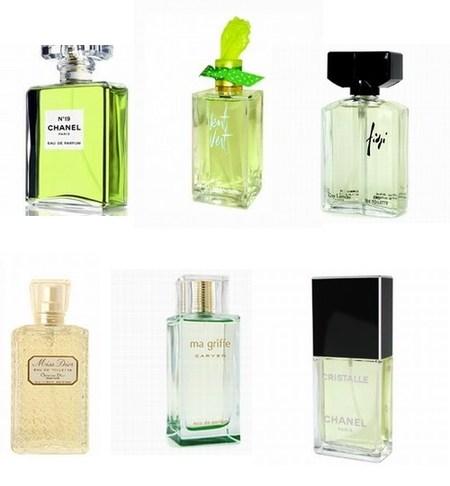 Los perfumes verdes, todo un jardín en cada frasco