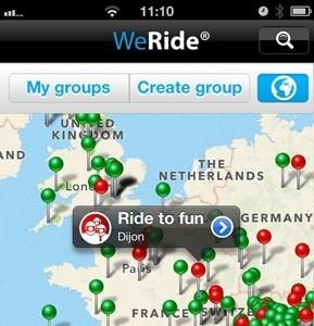 La aplicación WeRide se posiciona como una gran herramienta de comunicación