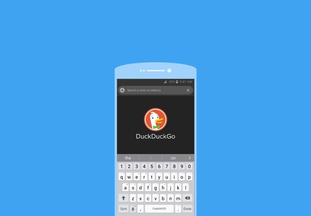 Los buscadores alternativos en Android se seleccionan por subasta: DudDuckGo dice que este método es
