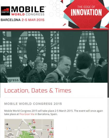 Android en el Mobile World Congress 2015 - Día 0