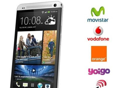 Precios HTC One con Orange y comparativa con Movistar, Vodafone y Yoigo