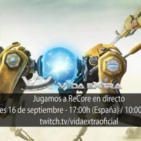 Jugamos en directo a ReCore a las 17:00h (las 10:00h en Ciudad de México)