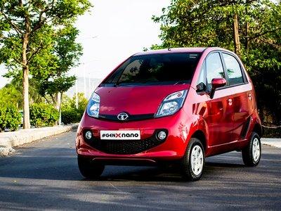 """El Tata Nano, bautizado como """"el auto más barato del mundo"""", está muerto"""