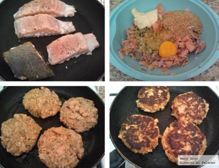 hamburguesas salmon