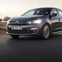 Un nuevo frontal y un nuevo sistema de infoentretenimiento para el Citroën C-Elysée 2017