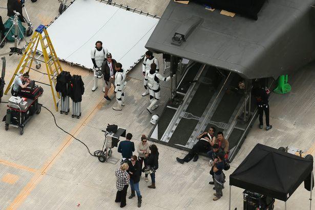Foto de Primeras imágenes del rodaje de Rogue One (5/5)