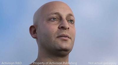 Activision muestra la tecnología facial de sus juegos en el futuro [GDC 2013]