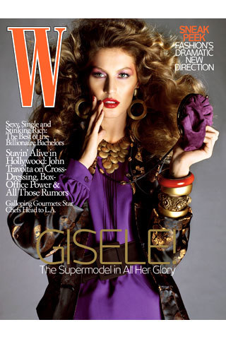 Gisele Bundchen en la revista W