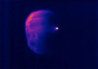 Las cámaras térmicas, elemento que la NASA utiliza (y nos enseña) para mejorar futuros vuelos