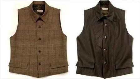 Antonio Miró y sus chalecos-camisas