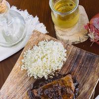 Filete de atún glaseado al balsámico. Receta fácil y saludable