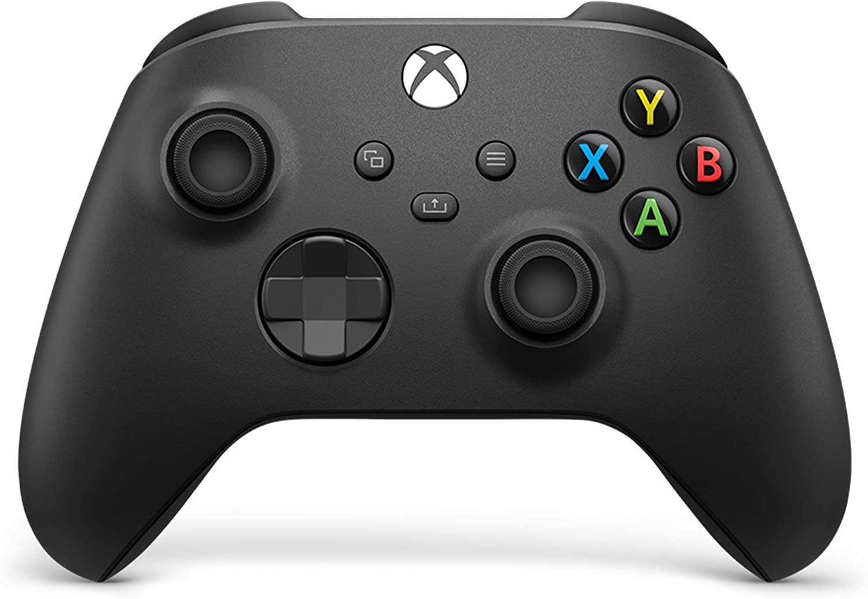 Mando inalámbrico - Microsoft Xbox One Controller Wireless QAT-00002, Para Xbox One Series X/S, Carbon, Negro
