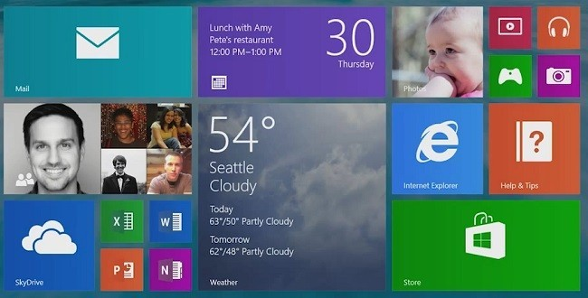Live Tiles en Windows 8.1