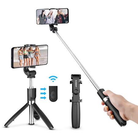Tripode Palo Selfie Y Mando De Control Remoto
