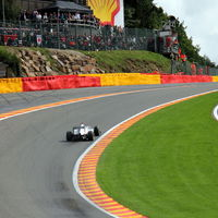 Spa sustituirá la escapatoria de asfalto de Eau Rouge por gravilla tras el accidente de Anthoine Hubert