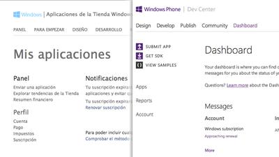 Microsoft unifica los registros de desarrollador para Windows Phone y Windows