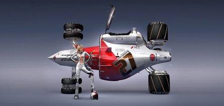 Un diseñador de Hollywood para Hispania Racing F1 Team