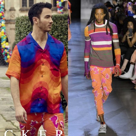 Jonas Brothers Suckers Wearing Prabal Gurung Menswear Collection Spring Summer 2019 04