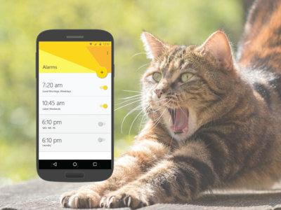 Despertarse supone un reto aún mayor con Mimicker Alarm para Android