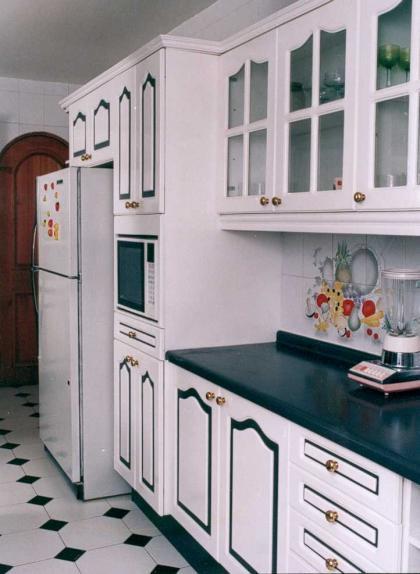 Excepcional Muebles De Cocina Blancos Pintan Las Ideas Adorno ...